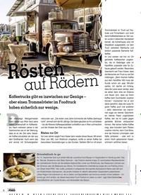 Titelbild der Ausgabe 2/2019 von Rösten auf Rädern. Zeitschriften als Abo oder epaper bei United Kiosk online kaufen.