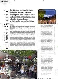 Titelbild der Ausgabe 2/2019 von Streetfood mit Wein-Special. Zeitschriften als Abo oder epaper bei United Kiosk online kaufen.