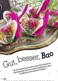 Titelbild der Ausgabe 2/2019 von Gut, besser, Bao. Zeitschriften als Abo oder epaper bei United Kiosk online kaufen.