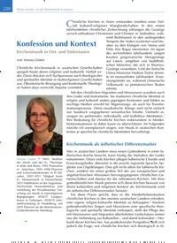 Titelbild der Ausgabe 4/2019 von Konfession und Kontext. Zeitschriften als Abo oder epaper bei United Kiosk online kaufen.