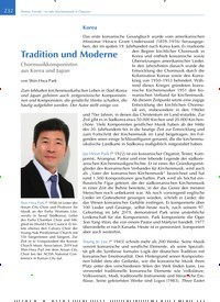Titelbild der Ausgabe 4/2019 von Tradition und Moderne. Zeitschriften als Abo oder epaper bei United Kiosk online kaufen.
