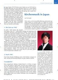 Titelbild der Ausgabe 4/2019 von Kirchenmusik in Japan. Zeitschriften als Abo oder epaper bei United Kiosk online kaufen.