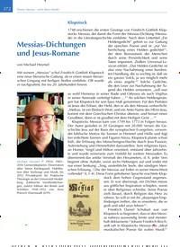 Titelbild der Ausgabe 6/2019 von Messias-Dichtungen und Jesus-Romane. Zeitschriften als Abo oder epaper bei United Kiosk online kaufen.