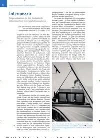 Titelbild der Ausgabe 1/2020 von Intermezzo. Zeitschriften als Abo oder epaper bei United Kiosk online kaufen.