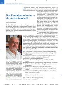 Titelbild der Ausgabe 2/2020 von Das Kantatenorchester - ein Auslaufmodell?. Zeitschriften als Abo oder epaper bei United Kiosk online kaufen.