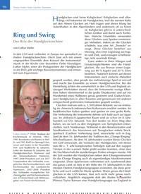 Titelbild der Ausgabe 2/2020 von Ring und Swing: Der Reiz der Handglockenchöre. Zeitschriften als Abo oder epaper bei United Kiosk online kaufen.