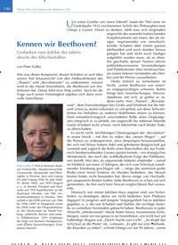 Titelbild der Ausgabe 3/2020 von Kennen wir Beethoven?. Zeitschriften als Abo oder epaper bei United Kiosk online kaufen.