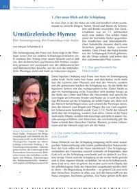 Titelbild der Ausgabe 4/2020 von Umstürzlerische Hymne. Zeitschriften als Abo oder epaper bei United Kiosk online kaufen.