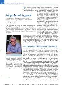 Titelbild der Ausgabe 4/2020 von Lobpreis und Legende. Zeitschriften als Abo oder epaper bei United Kiosk online kaufen.