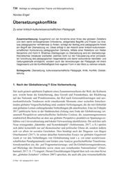 Titelbild der Ausgabe 5/2019 von Nicolas Engel: Übersetzungskonflikte. Zeitschriften als Abo oder epaper bei United Kiosk online kaufen.