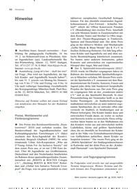 Titelbild der Ausgabe 2/2020 von Hinweise. Zeitschriften als Abo oder epaper bei United Kiosk online kaufen.