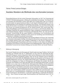 Titelbild der Ausgabe 3/2020 von Tobias Thiele/Larissa Donges: Soziales Wandern als Methode des non-formalen Lernens. Zeitschriften als Abo oder epaper bei United Kiosk online kaufen.