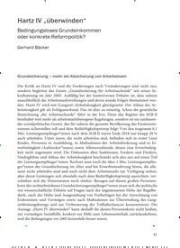 """Titelbild der Ausgabe 5/2019 von Hartz IV """"überwinden"""". Zeitschriften als Abo oder epaper bei United Kiosk online kaufen."""