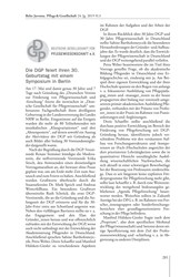 Titelbild der Ausgabe 3/2019 von Die DGP feiert ihren 30. Geburtstag mit einem Symposium in Berlin. Zeitschriften als Abo oder epaper bei United Kiosk online kaufen.