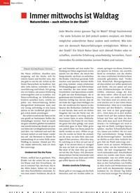 Titelbild der Ausgabe 4/2018 von Immer mittwochs ist Waldtag. Zeitschriften als Abo oder epaper bei United Kiosk online kaufen.