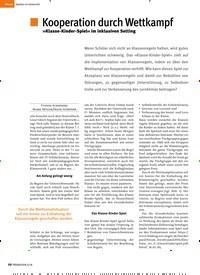 Titelbild der Ausgabe 6/2018 von Kooperation durch Wettkampf. Zeitschriften als Abo oder epaper bei United Kiosk online kaufen.