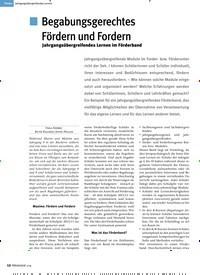 Titelbild der Ausgabe 1/2019 von Jahrgangsübergreifendes Lernen: Begabungsgerechtes Fördern und Fordern. Zeitschriften als Abo oder epaper bei United Kiosk online kaufen.