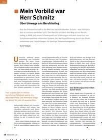 Titelbild der Ausgabe 6/2019 von Mein Vorbild war Herr Schmitz: Über Umwege ans Berufskolleg. Zeitschriften als Abo oder epaper bei United Kiosk online kaufen.