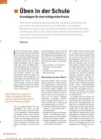 Titelbild der Ausgabe 2/2020 von Üben in der Schule Grundlagen für eine erfolgreiche Praxis. Zeitschriften als Abo oder epaper bei United Kiosk online kaufen.