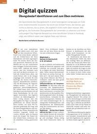 Titelbild der Ausgabe 2/2020 von Digital quizzen. Zeitschriften als Abo oder epaper bei United Kiosk online kaufen.
