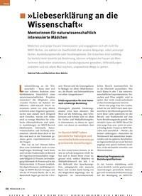 Titelbild der Ausgabe 3/2020 von »Liebeserklärung an die Wissenschaft«. Zeitschriften als Abo oder epaper bei United Kiosk online kaufen.