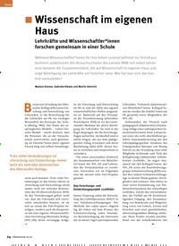 Titelbild der Ausgabe 10/2020 von Wissenschaft im eigenen Haus. Zeitschriften als Abo oder epaper bei United Kiosk online kaufen.