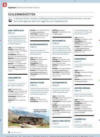 Titelbild der Ausgabe 9/2019 von Kulinarische Hütten | Service: SCHLEMMERHÜTTEN. Zeitschriften als Abo oder epaper bei United Kiosk online kaufen.