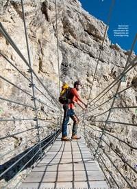 Titelbild der Ausgabe 11/2019 von Falzárego: Klettersteige: DIE ZEHN VOM FALZÁREGO. Zeitschriften als Abo oder epaper bei United Kiosk online kaufen.