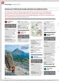 Titelbild der Ausgabe 11/2019 von Klettersteige: Falzárego: Service: ZEHN KLETTERSTEIGE RUND UM DEN FALZÁREGO-PASS. Zeitschriften als Abo oder epaper bei United Kiosk online kaufen.