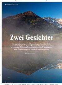Titelbild der Ausgabe 11/2019 von Bergwandern: Kaiserwinkl: Zwei Gesichter. Zeitschriften als Abo oder epaper bei United Kiosk online kaufen.
