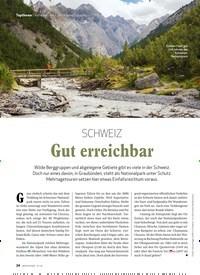 Titelbild der Ausgabe 1/2020 von Nationalparks der Alpen/Schweiz: SCHWEIZ: Gut erreichbar. Zeitschriften als Abo oder epaper bei United Kiosk online kaufen.