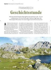 Titelbild der Ausgabe 1/2020 von Nationalparks der Alpen/Mercantour: FRANKREICH: Geschichtsstunde. Zeitschriften als Abo oder epaper bei United Kiosk online kaufen.