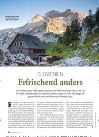 Titelbild der Ausgabe 1/2020 von Nationalparks der Alpen/Triglav: SLOWENIEN: Erfrischend anders. Zeitschriften als Abo oder epaper bei United Kiosk online kaufen.