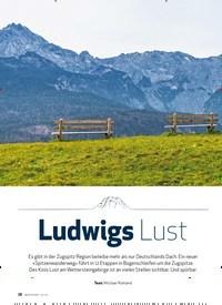 Titelbild der Ausgabe 2/2020 von Spitzenwanderweg: Ludwigs Lust. Zeitschriften als Abo oder epaper bei United Kiosk online kaufen.