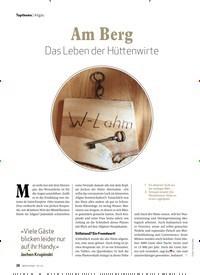 Titelbild der Ausgabe 3/2020 von Am Berg Das Leben der Hüttenwirte. Zeitschriften als Abo oder epaper bei United Kiosk online kaufen.