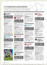 Titelbild der Ausgabe 3/2020 von 3 x 3 TOUREN FÜR ALG ÄU-ENTDECKER. Zeitschriften als Abo oder epaper bei United Kiosk online kaufen.