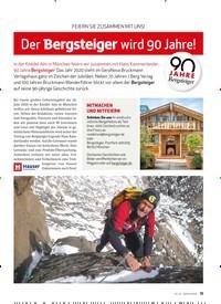 Titelbild der Ausgabe 4/2020 von feiern sie ZusAMMen Mit uns!: Der Bergsteiger wird 90 Jahre!. Zeitschriften als Abo oder epaper bei United Kiosk online kaufen.