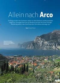 Titelbild der Ausgabe 4/2020 von Gardasee Bergwandern: Allein nach Arco. Zeitschriften als Abo oder epaper bei United Kiosk online kaufen.