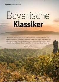 Titelbild der Ausgabe 7/2020 von Bergwandern: Bayerische Klassiker. Zeitschriften als Abo oder epaper bei United Kiosk online kaufen.