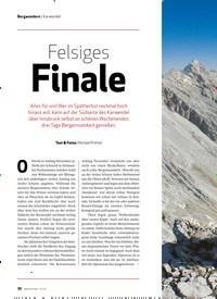 Titelbild der Ausgabe 10/2020 von Bergwandern | Karwendel: Felsiges Finale. Zeitschriften als Abo oder epaper bei United Kiosk online kaufen.
