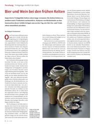 Titelbild der Ausgabe 5/2019 von Trinkgelage nördlich der Alpen: Bier und Wein bei den frühen Kelten. Zeitschriften als Abo oder epaper bei United Kiosk online kaufen.