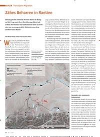 Titelbild der Ausgabe 1/2020 von THEMA: Transalpine Migration: Zähes Beharren in Raetien. Zeitschriften als Abo oder epaper bei United Kiosk online kaufen.
