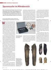 Titelbild der Ausgabe 2/2020 von Artefakte im Experiment: Spurensuche im Mikrobereich. Zeitschriften als Abo oder epaper bei United Kiosk online kaufen.