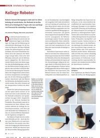 Titelbild der Ausgabe 2/2020 von Artefakte im Experiment: Kollege Roboter. Zeitschriften als Abo oder epaper bei United Kiosk online kaufen.
