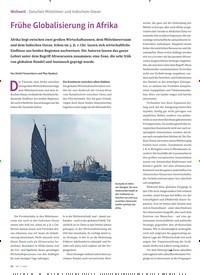 Titelbild der Ausgabe 3/2020 von Weltweit Zwischen Mittelmeer und Indischem Ozean: Frühe Globalisierung in Afrika. Zeitschriften als Abo oder epaper bei United Kiosk online kaufen.