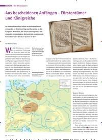 Titelbild der Ausgabe 3/2020 von Die Westslawen: Aus bescheidenen Anfängen – Fürstentümer und Königreiche. Zeitschriften als Abo oder epaper bei United Kiosk online kaufen.
