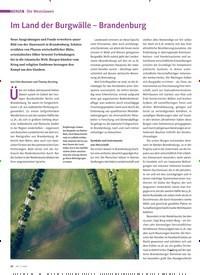 Titelbild der Ausgabe 3/2020 von Die Westslawen: Im Land der Burgwälle – Brandenburg. Zeitschriften als Abo oder epaper bei United Kiosk online kaufen.