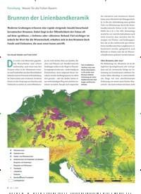 Titelbild der Ausgabe 5/2020 von Wasser für die frühen Bauern: Brunnen der Linienbandkeramik. Zeitschriften als Abo oder epaper bei United Kiosk online kaufen.