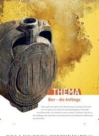 Titelbild der Ausgabe 1/2021 von Bier - die Anfänge. Zeitschriften als Abo oder epaper bei United Kiosk online kaufen.