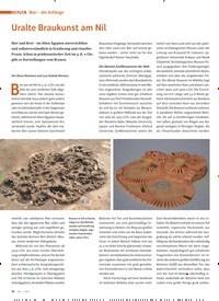Titelbild der Ausgabe 1/2021 von Bier -die Anfänge: Uralte Braukunst am Nil. Zeitschriften als Abo oder epaper bei United Kiosk online kaufen.